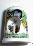 Alice In Wonderland Peek-a-boo Thimble