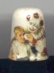 Runaway Clowns Thimble-heirloom