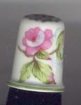 Haviland Rose Thimble-limoges