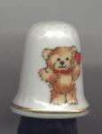 Teddy Bear Thimble - 1979-enesco