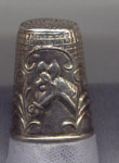 Horse Thimble Sterling Silver Thimble