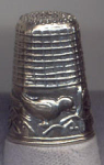 Bird Sterling Silver Thimble