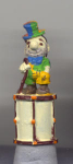 Clown Hand Painted Pewter Thimble