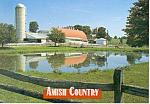 Amish Country Farm Postcard