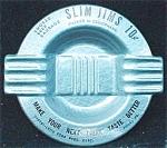 Slim Jims Advertising Tin Ashtray