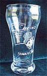 Heinz Tomato Juice Advertising Restaurant Glass