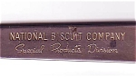 National Buscuit Advertising Promotional Letter Opener