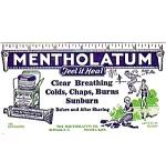 Mentholatum Rub Advertising Blotter