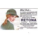 Retona Health Restorer Advertising Blotter