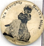 High Admiral Tobacco Cigarette Advertising Pin Back Button