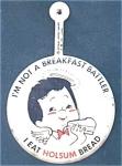 Holsum Bread Advertising Pin Back Button
