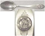 Ft. Meyers Florida Thomas Edison Home Souvenir Spoon
