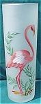 Vintage Flamingo Vase Or Cocktail Glass