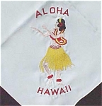 Aloha Hawaii Souvenir Table Cover Or Scarf
