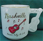 Nashville Music City, Usa Souvenir Cup