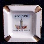 Ny Souvenir Ashtray Empire State Building
