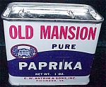 Old Mansion Spice Tin