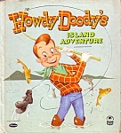 Howdy Doody 1955 Whitman Cozy Corner Childs Book