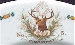 Elks Lodge, No. 5, Cincinnati Restaurant Plate- Syracuse