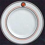 Locker Room Club Restaurant Ware Plate- Syracuse China