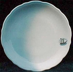 Sailing Ship Syracuse China Restaurant Ware Plate