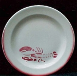 Airbrush Lobster Restaurant Ware Service Plate
