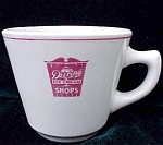 Deering Ice Cream Shop Restaurant Ware Cup