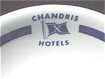 Chandris Hotels Saucer H Laughlin Restaurant Ware