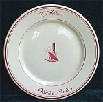 Jackson- Ted Hilton Cruise Line Restaurant Ware Plate