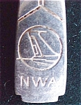 North West Airlines Advertising Fork