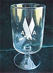 American Airlines 1st Class Advertising Glass