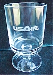U S Airlines Advertising Glass 1st Class