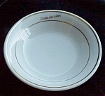 Delta Airlines Signature Restaurant Ware Airline Bowl