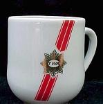 Twa Airlines Restaurant Ware Demitasse Cup