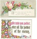 Victorian Religious Trade Cards (2) Luke,prov