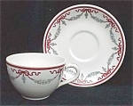 Hotel Pierre Restaurant Ware Cup And Saucer- Shenango China