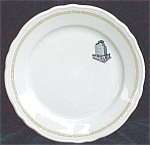 Hotel Topmarked Restaurant Ware Plate- H Laughlin China