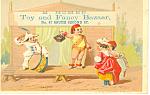 Toy Store Trade Card, Philadelphia, Pa