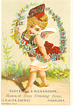 Dress Trimming House Trade Card