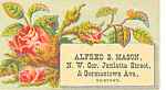 Masons Grocery Store Trade Card