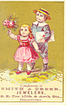 Smith And Drier Jewelers Trade Card