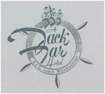 Jack Tar Hotel Restuarant Ware Plate Sailor Ships Wheel