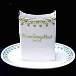 Prince George Hotel Restaurant Ware Match Safe