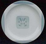 Syracuse Grey Airbrushed Restaurant Plate