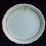 Syracuse G F Restaurant Ware Plate