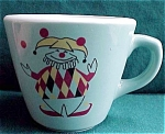 The Jester Turquoise Childs Restaurant Ware Cup