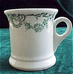 Green Transfer Print Handled Creamer