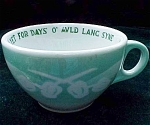Auld Lang Syne Restaurant Ware Airbrush Coffee Cup