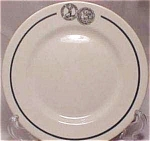 Hartford Fire And Accident Restaurant Plate- Lamberton China