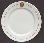 Firemans Fund Insurance Restaurant Ware Plate -syracuse